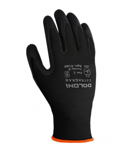 EXTRAGRAB gloves knitted latex coated