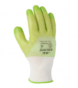 D-RESIST knitted gloves with PVC coating