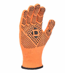 Universal D knitted gloves