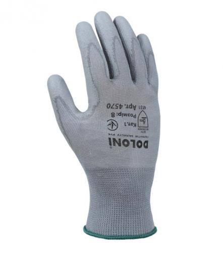 Рукавички D-FLEX трикотажні з поліуретановим покриттям - 1