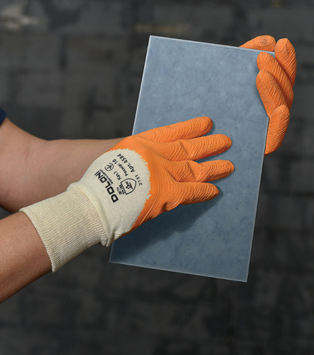 Рукавички EXTRAGRAB трикотажні з латексним покриттям - 3