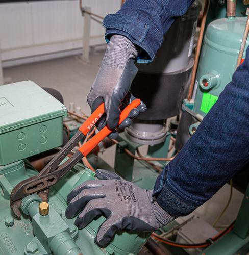Рукавички D-OIL трикотажні з нітриловим покриттям - 3