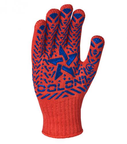 Перчатки Звезда Долони трикотажные - 1
