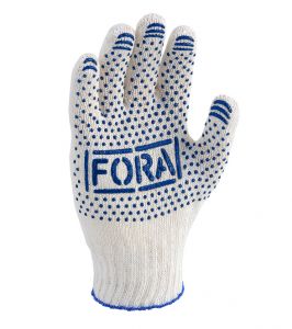 Fora knitted gloves
