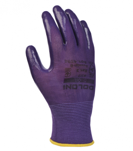 Рукавички D-OIL трикотажні з нітриловим покриттям - 1
