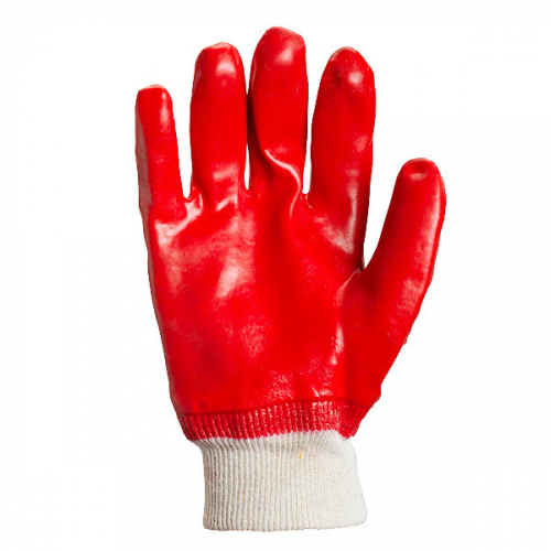 D-RESIST knitted gloves with PVC coating - 2