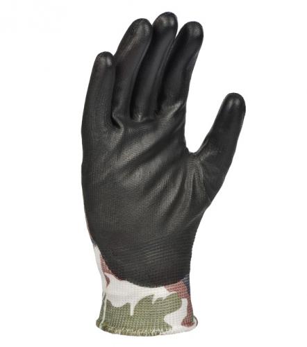 Рукавички D-FLEX трикотажні з поліуретановим покриттям - 2