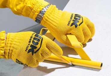 Gloves with individual design
